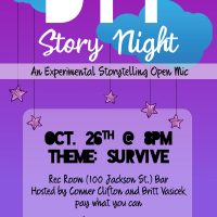 D.I.Y. Story Night : A Storytelling Open Mic