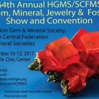 Houston Gem, Jewelry, Mineral, and Fossil Show: HGMS 64th Annual