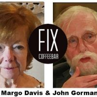 Poetry Fix as Houston Poetry Fest satellite reading: Margo Davis & John Gorman