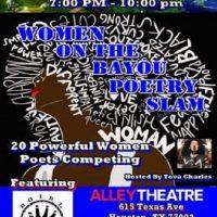 Women On The Bayou Poetry Slam  NEW VENUE