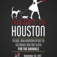 Our Gift to Houston: 2017 Houston PetSet Gifting Event