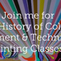 History of Color: Pigment and Technical Painting Classes (Mondays and Tuesdays)