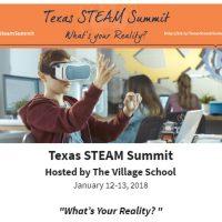2nd Annual Texas STEAM Summit