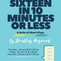 Sixteen in 10 Minutes or Less: A Suite of Short Plays