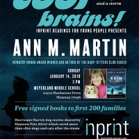 Cool Brains! Inprint Readings for Young People: Ann M. Martin Reading