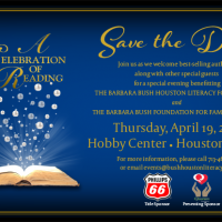 Barbara Bush Houston Literacy Foundation Hosts 24th Annual A Celebration of Reading