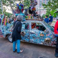 31st Annual Houston Art Car Parade Weekend: Sneak Peek at Discovery Green on the Avenida