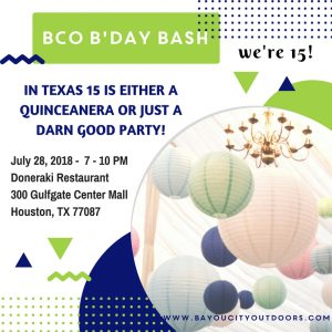 BCO's B-day Bash