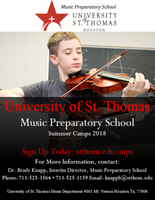 Music Preparatory School Summer Camps