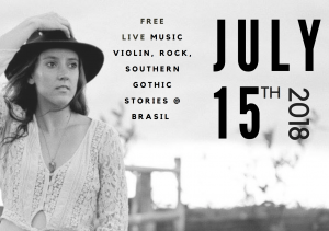 Fusion Violin, Rock and Southern Gothic Stories at Brasil
