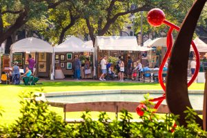 2018 Bayou City Art Festival Downtown