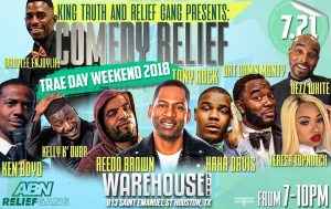 KING TRUTH AND THE RELIEF GANG PRESENT: COMEDY REL...