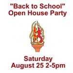 """Back to School"" Open House Party"