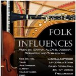 Folk Influences Concert