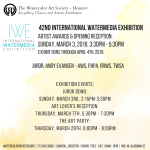 CALL for ENTRY: 42nd International Watermedia Exhi...
