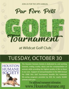29th Annual Par FORE Pets Golf Tournament