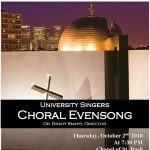 University of St. Thomas Choral Evensong.