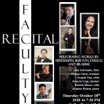 Faculty Recital at The University of St. Thomas