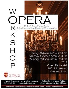 The University of St. Thomas Opera Workshop