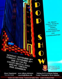 The University of St. Thomas Pop Show