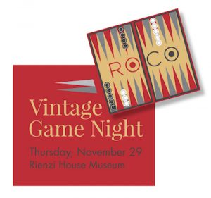 ROCO Connections: Vintage Game Night