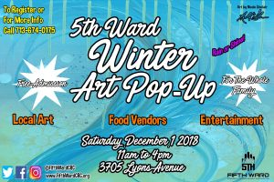 5th Ward Winter Art Pop-Up