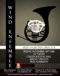University of St. Thomas Wind Ensemble Concert
