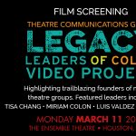 Celebrating the Creative Journey (Screening): TCG Legacy Leaders of Color