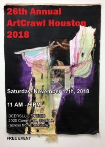 26th Annual ArtCrawl at Deerslug Studio