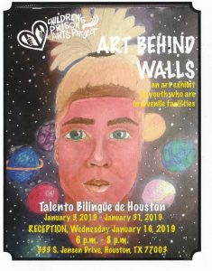 Art Behind Walls: January reception and exhibit