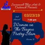 2nd Anual Women On The Bayou Poetry Slam