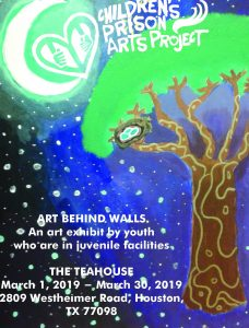Art Behind Walls:Free March Exhibit