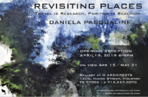 REVISITING PLACES by DANIELA PASQUALINI