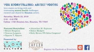Vox Storytellers: Artist Voices