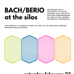 Bach/Berio at the Silos