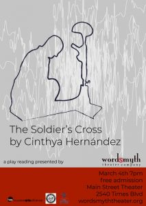Reading of The Soldier's Cross by Houston playwright Cynthia