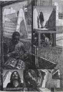 """Chris Troutman """"Slicing Time: Drawing and Narrative"""""""