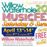 Two Days of vibrant LIVE FREE MUSIC at Willow Waterhole MusicFest 2019