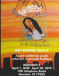 Art Behind Walls:Free April Exhibit