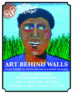 Art Behind Walls: May exhibit