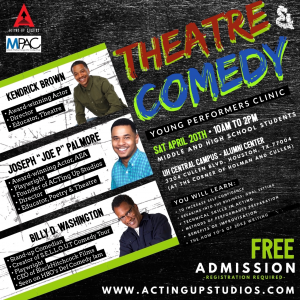 Theatre & Comedy Young Performers Clinic