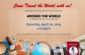 AROUND THE WORLD! -- a celebration of music culture and composers