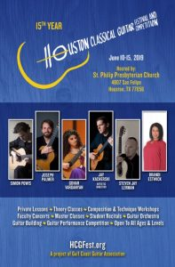 Houston Classical Guitar Festival and Competition