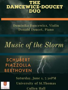 "Music of the Storm: Beethoven's ""Kreutzer"" Sonata"