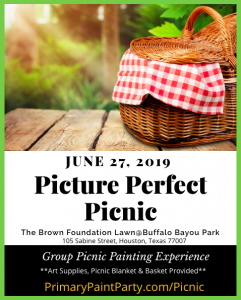 Picture Perfect Picnic @ Buffalo Bayou Park