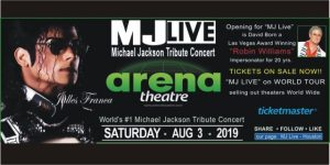 MJ Live Aug 3, 2019  Arena Theatre Houston