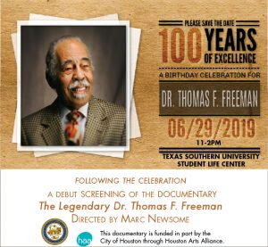 Dr. Thomas F. Freeman's 100th Birthday and Documentary Screening