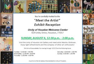 Unity of Houston Art Gallery: Meet the Artist