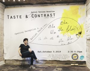 Artist Talk - Opening Reception - Taste & Cont...