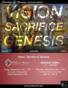 Vision, Sacrifice, & Genesis